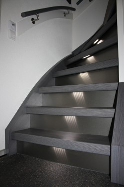 trap met led verlichting