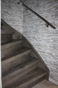 RVS trapleuning aangebracht door Venlo Traprenovatie